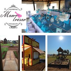 Mon Tresor is a stunning venue nestled in the scenic Zwavelpoort Valley. The venue boasts a large area where the children are safe to play on all the wonderful equipment. There is a large jungle gym, a wooden train to play in, a fantastic bike track with a diner and petrol pump playhouse for some wonderful imaginative play. There is also a big chalk board to draw on to keep the kids entertained.  We have an 8 x 6m lapa or a covered area of 6 x 6 m available from where to host your party !