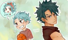 Young Gale & Older Gale
