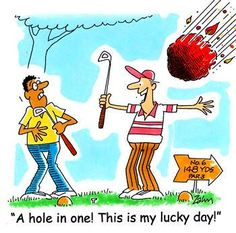 Lucky day!? #golf #funny #golfhumor I Rock Bottom Golf #rockbottomgolf