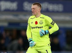 Jordan Pickford saved a penalty as Everton earned their first win since September, beating Watford Leighton Baines, Dominic King, Goodison Park, Hot Blue, Watford, Everton, Goalkeeper, Love Of My Life, Comebacks