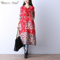 95c2e805c7ac0 Aliexpress.com   Buy Fashion 2016 New Autumn plus size Loose women Chinese  dragon printing long sleeved cotton clothes Chinese Style Women DressB6551  from ...