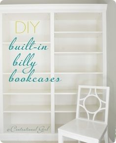 Bookcases. With doors to protect books. In the bedroom. Perfect! (Billy bookcase from IKEA)