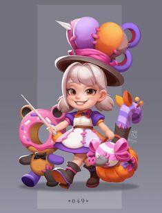 #halloween #littlegirdesignl #monster #creatures Game Character Design, Kid Character, Character Design References, Character Design Inspiration, Character Concept, Concept Art, Character Illustration, Illustration Art, Casual Art