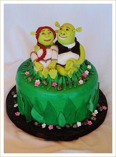 Shrek Birthday Cake Shrek Birthday Cakes And Birthdays