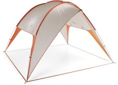 The REI InCamp Shelter 100 is designed to easily dock with any REI InCamp tent (sold separately): Simply slide the shelter over the front door frame of your InCamp tent.
