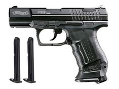 Walther P99 .43 Paintball Pistol Black with Extra Magazine by RAM. $195.95. The Walther P99 Real Action Marker Paintball pistol is the ultimate in reality training. RAM products are replicas of the actual firearm and utilize clips containing either .43 caliber paintballs or .43 caliber rubber balls. Rubber balls are commonly used for military, police, or other authority training. This P99 RAM is powered by one 12g CO2 cylinder, or with an adapter, an 88g CO2 cylinder. It ...