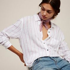 Must-have Office Wear Simple Summer 9/10 Sleeves Stripped Blouse - OACHY The Boutique #sleeves, #office, #have, #summer, #boutique