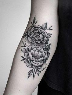 tatouage fleur pivoine - idée de tatouage japonais