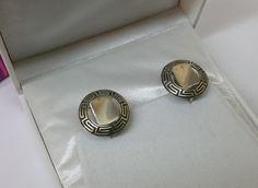 Vintage Ohrhänger - Ohrringe Ohrhänger Silber 925 Nostalgie rar SO235 - ein Designerstück von Atelier-Regina bei DaWanda