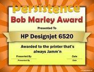 bob marley award