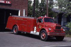 us Line Lexington,PA  REO + Harwick 1957