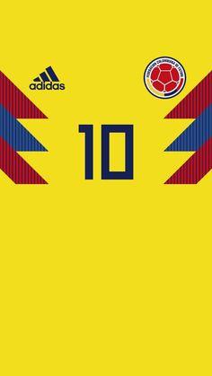 Federación Colombiana de Fútbol #fútbol #colombia #colombianos #fondosdefútbol  #fondos #wallpaper Soccer Kits, Football Kits, James Rodriguez Wallpapers, Fifa, Colombia Football, James Rodrigez, Football Uniforms, Soccer Jerseys, Juventus Wallpapers