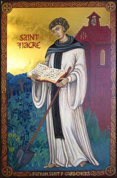 """Résultat de recherche d'images pour """"Icône de Saint Fiacre"""""""