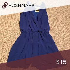 Romper Royal blue romper. Never worn. Still has tags. pitaya Pants Jumpsuits & Rompers