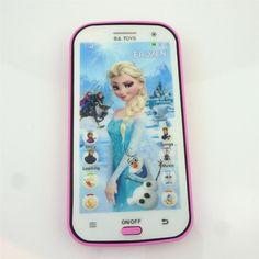 Wysokiej Jakości Zamarł Języka Angielskiego Komórka Telefon Maszyny Elektroniczne Zabawki Edukacyjne Nauka zabawka Dla Dzieci Prezenty Dla Dzieci