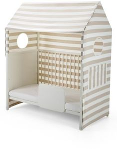 Stokke U0027Home TM U0027 Toddler Bed Tent | Funky Kids Bed In White And Beige