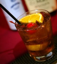 Old Fashion drink recipe with some history... one of my all time favorite drinks