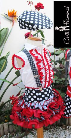 Flamenco for kids Baby Dress Patterns, Projects To Try, Fashion Dresses, Girls Dresses, Costumes, Bride, Sewing, Crochet, Designer Children