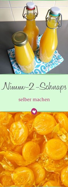 Make yourself - how it works- selber machen – so geht's Take 2 schnapps to make yourself and perfect to give away - Vodka, Healthy Snacks, Healthy Recipes, Ice Cream Party, Schnapps, Pumpkin Spice Cupcakes, Nutrition, Few Ingredients, Refreshing Drinks