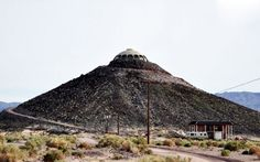 Huell Howser's California House Atop a 150-foot Desert Volcano Now Up for Sale! | Inhabitat - Sustainable Design Innovation, Eco Architectur...