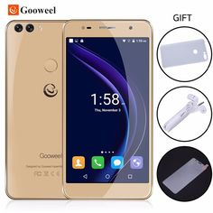Check it on our site Gooweel M8 Smartphone Fingerprint ID Dual 2.5D Glass 5.5 inch HD IPS screen MTK6580 quad core Mobile cell phone 1GB+8GB  13.0MP just only $72.99 - 81.75 with free shipping worldwide  #mobilephones Plese click on picture to see our special price for you