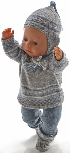 Welcome to Maalfrid Gausel doll knitting patterns store - the most lovely knitting patterns for dolls Knitting Dolls Clothes, Baby Doll Clothes, Knitted Dolls, Doll Clothes Patterns, Girl Dolls, Baby Dolls, American Girl, Baby Barn, How To Start Knitting