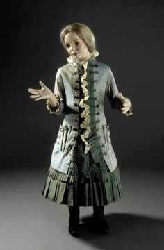 Girl's Two-piece Dress England, circa 1885 LACMA Collections