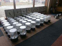 oude ind. hang/wandlampen,old stock,never used +-200 op voorraad prijs pst 20 euro e27 fitting 95 procent met melkglas