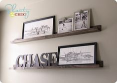 diy wall shelves..This website is great for retail knock offs. Has items from Pottery Barn, Pier 1, Anthropolgie, Williams-Sonoma and more.