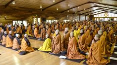 The four-fold sanghas of Upper Hamlet, Son Ha, Lower Hamlet, New Hamlet and Maison de l'Inspir' all gathered to perform the formal ceremony to open the retreat at Plum Village, France. Walking Meditation, Zen Master, Thich Nhat Hanh, Rustic French, Spiritual Teachers, The Monks, Social Change, Oprah Winfrey, Finding Peace