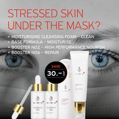 MASK SET 💗 - The duration of the pandemic poses new challenges for people's skin. Wearing protective and medical products or masks impairs the performance of our skin. We at EVENSWISS@ propose the MASK SET that nourishes and moisturizes the skin. #dryskin #hydration #acne #covid-19 #corona #pandemic #facecare#skin #skincare #oilyskin #sensitiveskin #pores #swisscosmetics #swissquality #beauty #rejuvenation #antiaging #antiagingskincare #moisturizer #evenswiss #switzerland #swiss #schweiz Oily Skin, Sensitive Skin, Anti Aging Skin Care, Face Care, Switzerland, Cleanse, Masks, Moisturizer, Skincare