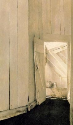 I want to live in an Andrew Wyeth painting..