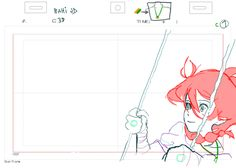 bahijd:  C32 ver.2 - Bahi JD my rough animation原画 from日本橋高架下R計画 Music Video ProjectIA/01 -BIRTH- directed by Takuya Hosogane