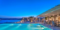 Book your escape at Santa Marina, a Luxury Collection Resort, Mykonos. Our exclusive Mykonos hotel offers luxury accommodations & unmatched experiences. Mykonos Luxury Hotels, Luxury Villa, Resort Villa, Resort Spa, Santa Marina, Marina Resort, Greece Honeymoon, Mykonos Greece, Dream Pools