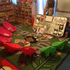 Home daycare. In-home Daycare. Home daycare. In-home Daycare. Daycare Setup, Daycare Organization, Daycare Design, Daycare Ideas, Preschool Rooms, Preschool At Home, Preschool Classroom, Classroom Ideas, Daycare Curriculum