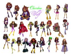 """""""Clawdeen Wolf"""" by ami-kesinger on Polyvore"""