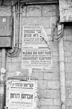 Mea Shearim Neighborhood | photography by…