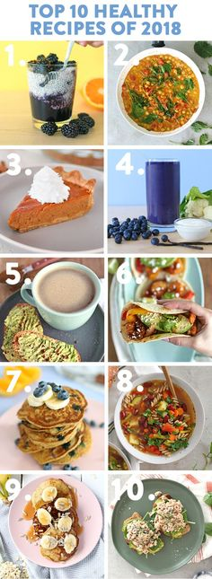 Today I'm sharing my top 10 healthy recipes of including some of my favourite breakfast, lunch, and dinner ideas that are easy and delicious! Healthy Gluten Free Recipes, Quick Healthy Meals, Easy Meals, Healthy Eating, Happy Healthy, Healthy Food, Paleo, Best Dinner Recipes, Lunch Recipes