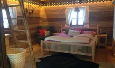 Meine kleine Alm Stay Overnight, Bunk Beds, Beautiful Places, Furniture, Home Decor, Traveling, Camper, Holidays, Outdoor