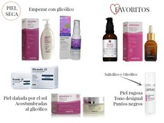 Cosméticos al desnudo: Salicílico y Glicólico| Productos para pieles seca...