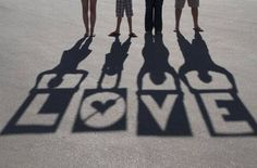 shadow photography - Love this.  Thinking I will try this spelling out San Diego 2012 for title page of scrapbook