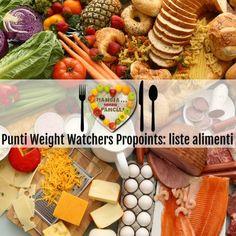 Punti Weight Watchers Propoints: liste alimenti, Mangia senza Pancia