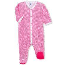 Roze babypyjama