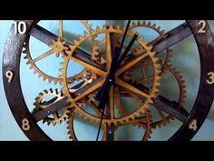 Wooden Gear Clock - Starchar