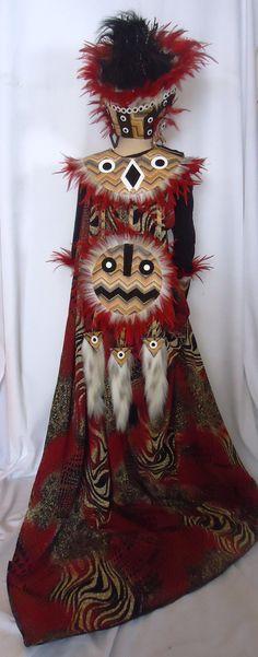 Nuevo traje Africano 2013.  www.embajadafiestas.com