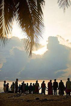 Praying at dusk. Coastal Kenya. Photo credit: DJ Glisson