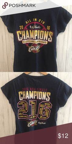 Cleveland cavaliers championship T 2016 Cleveland Cabs basketball NBA  FINALS Championship T Has team roster on back of shirt ( pictured) NBA Tops  Tees ... ec1ad44c1