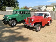 1955 Willys Station Wagon - Photo submitted by Patrick Hogan.