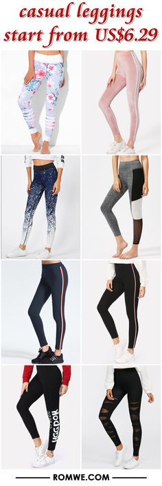 casual leggings from US$6.29