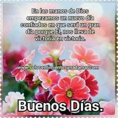 Buenos Dias http://enviarpostales.net/imagenes/buenos-dias-1094/ Saludos de Buenos Días Mensaje Positivo Buenos Días Para Ti Buenos Dias